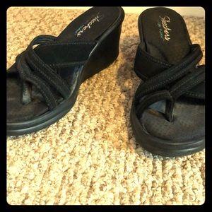 Wedge flip flop/sandal